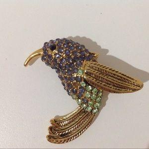 Humming Bird Brooch